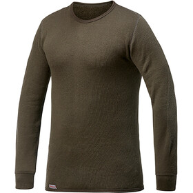 Woolpower 200 Crewneck Heren, pine green